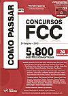 Capa do livro Como Passar em Concursos FCC, Wander Garcia