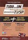 Capa do livro Tudo em Um para concursos de Escrevente do TJ/SP, Wander Garcia, Renan Flumian