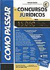 Capa do livro Como Passar em Concursos Jurídicos - 15.000 Questões comentadas, Wander Garcia