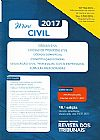 Capa do livro Mini Civil 2017 - (CC/CPC/CO/CF) - Legislação Civil, Processual Civil e Empresarial, Sumulas Selecionadas, RT