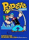 Capa do livro Popeye Clássico, Bud Sagendorf
