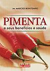 Capa do livro Pimenta e seus Benefícios À Saúde, Márcio Bontempo