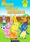 Capa do livro Backyardigans - Igual e Diferente, Fabiane Ariello