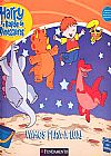 Capa do livro Harry e o Balde de Dinossauros - Vamos Para a Lua, Ian Whybrow