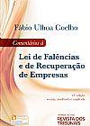 Capa do livro Comentários À Lei de Falências e de Recuperação de Empresas - 12ª Ed. 2017, Fábio Ulhoa Coelho