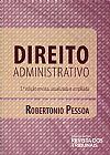 Capa do livro Direito Administrativo - 3º Ed., Robertonio Pessoa