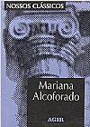 Capa do livro Mariana Alcoforado - Col. Nossos Clássicos, Maria da Graça Freire