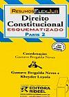 Capa do livro Direito Constitucional Esquematizado - Parte 2, Gustavo Bregalda Neves