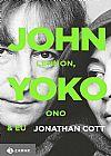 Capa do livro John Lennon, Yoko Ono E Eu, Jonathan Cott