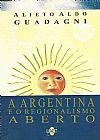 Capa do livro A Argenti10092018na e o Regionalismo Aberto, Alieto Aldo Guadagni