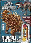 Capa do livro Jurassic World - Atividades e Desenhos das Feras (+ Brinde Guash), Alto Astral