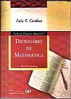 Capa do livro Dicionário de Matemática - Col. Páginas Amarelas, Luiz F. Cardoso