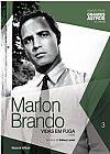 Capa do livro Marlon Brando - Vidas em Fuga - Vol. 3, Folha de S. Paulo