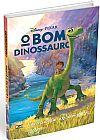 Capa do livro O Bom Dinossauro - A História do Filme Em Quadrinhos, Pixar