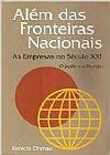 Capa do livro Além das fronteiras Nacionais, Kenichi Ohmae