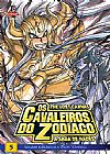 Capa do livro Os Cavaleiros do zodiaco - The Lost Canvas - A Saga de Hades - Vol.5, Masami Kurumada e Shiori Teshirogi