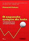 Capa do livro O Segundo Quique da Bola, Ronald Cohen