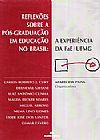 Capa do livro Reflexões Sobre a Pós-Graduação em Educação No Brasil, Aparecido Paiva