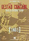 Capa do livro Gestão Contábil Para o Terceiro Setor - Ongs, Luiz Francisco Peyon
