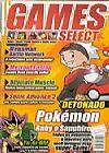 Capa do livro Games Select - Pokémon, Editoractiva